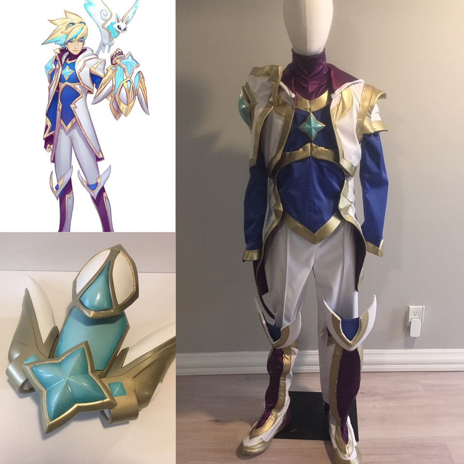 Star Guardian Ezreal Front View