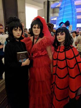 3 Lydia Deetzs at DragonCon