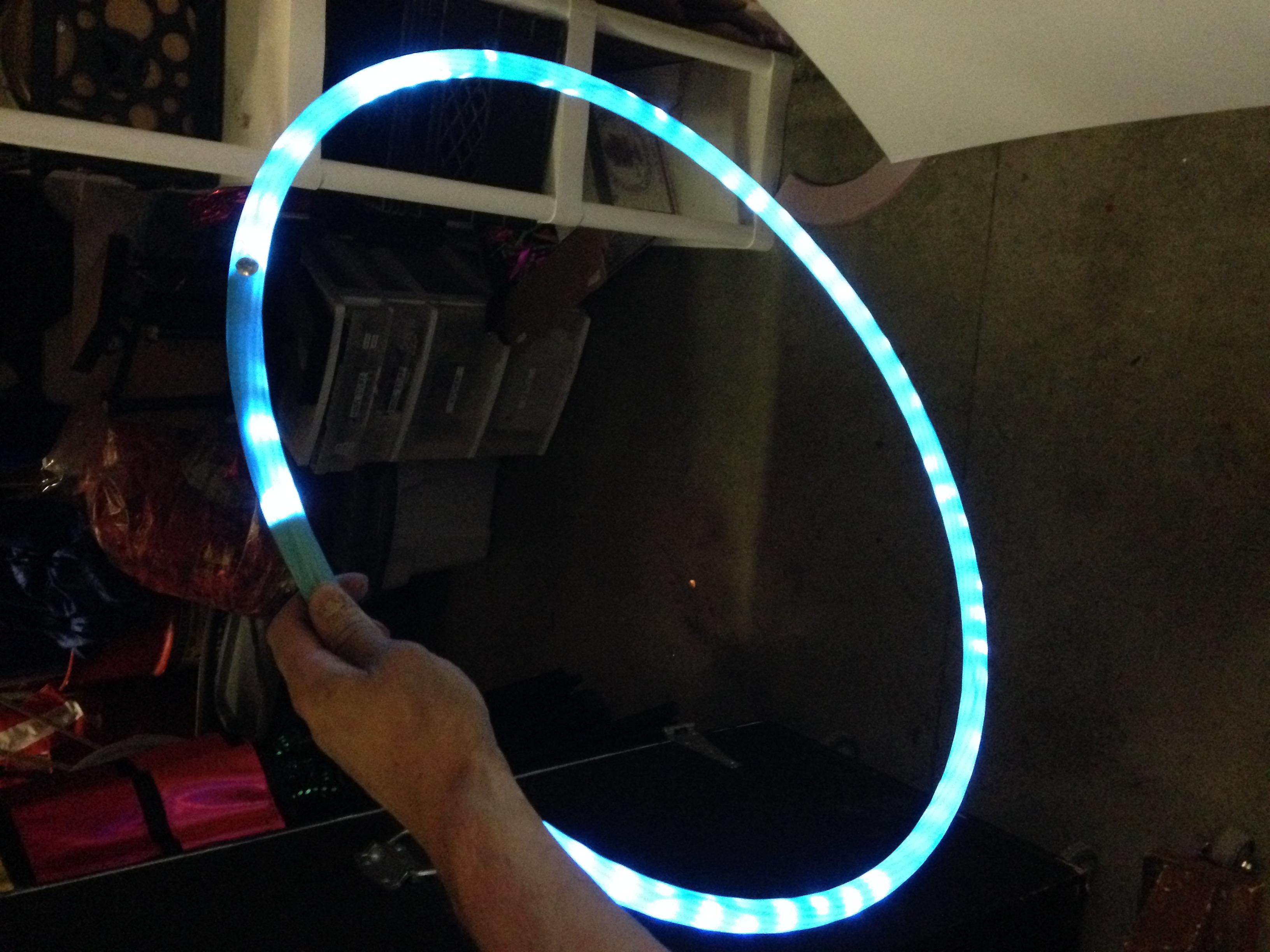Grandstand Show, LED hula hoop