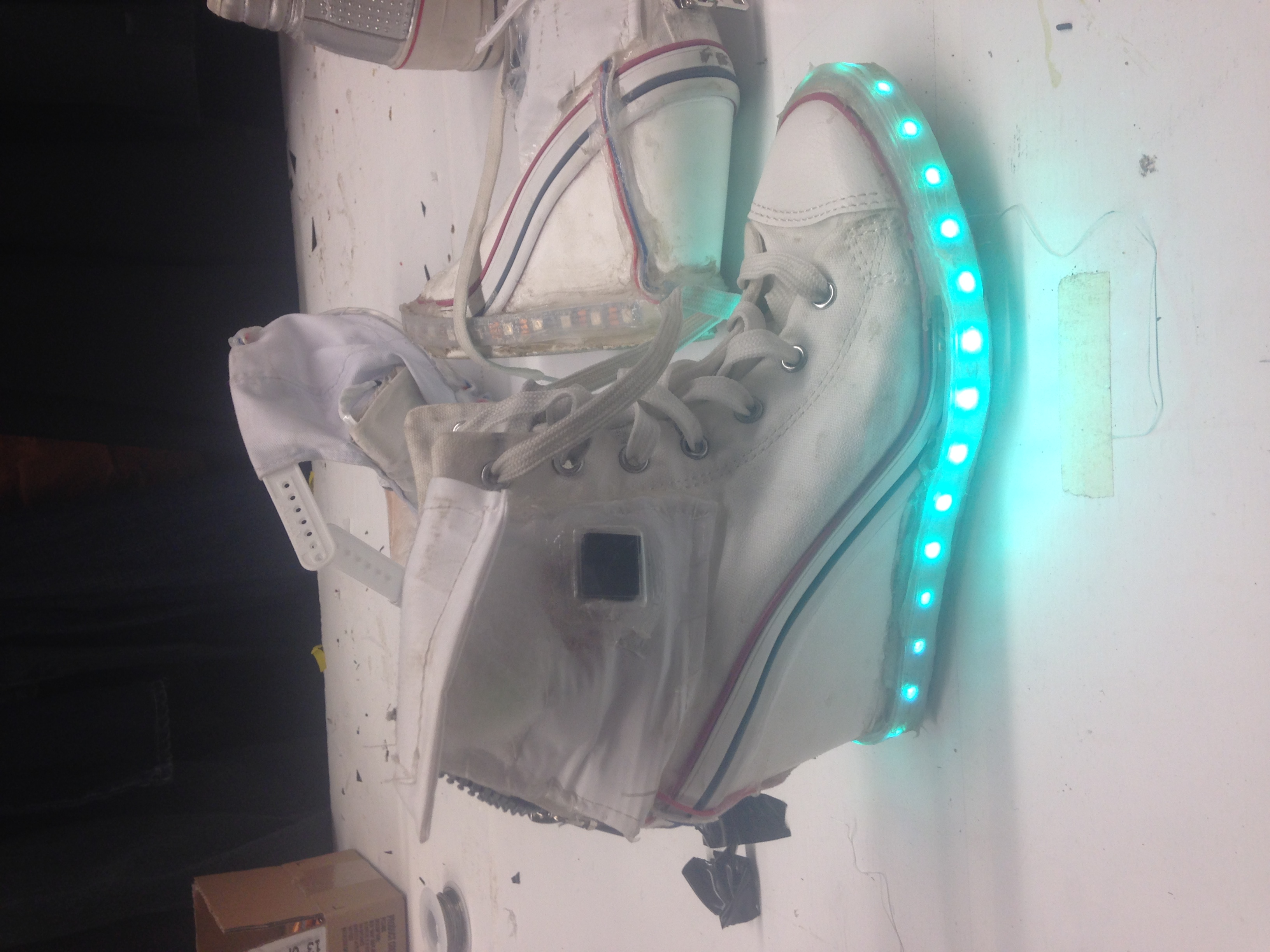 Grandstand Show 2015, LED shoes