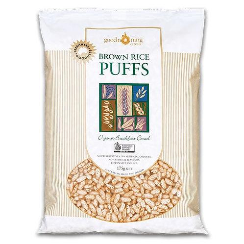 Organic Brown Rice Puffs - 175g