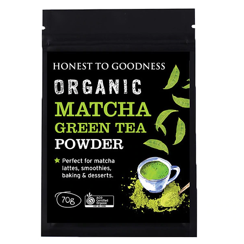 Organic Matcha Green Tea Powder - 70g