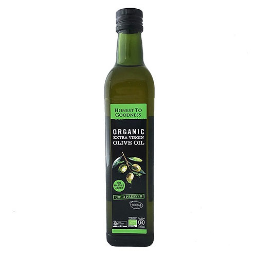 Organic Olive Oil Cold Pressed Extra Virgin - 500ml