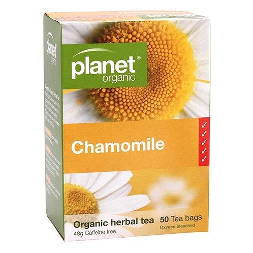 Organic Chamomile Tea - 50 tea bags
