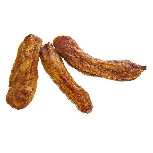 Organic Mini Dried Banana Fingers - 1kg