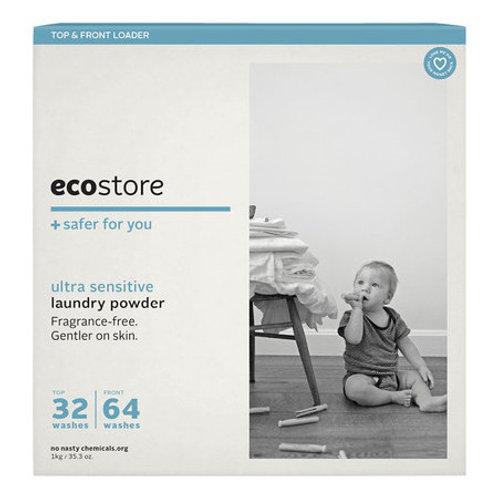 Ecostore Ultra Sensitive Laundry Powder (fragrance free) - 1kg