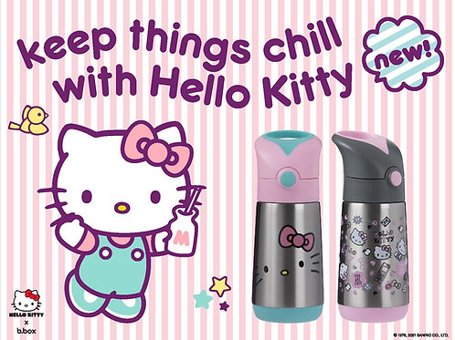 Hello Kitty B.box Stainless Steel Insulated Drink Bottle - 350ml