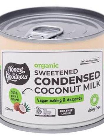 Organic Sweetened Condensed Coconut Milk - 200ml