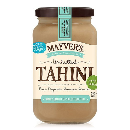 Mayver's Organic Unhulled Tahini - 385g