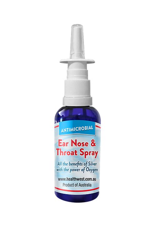 Ear, Nose & Throat Spray (Ionic + Oxygen) - 50ml