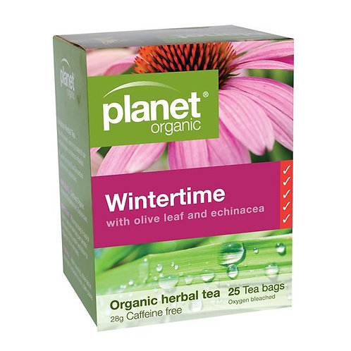 Organic Wintertime Tea - 25 tea bags