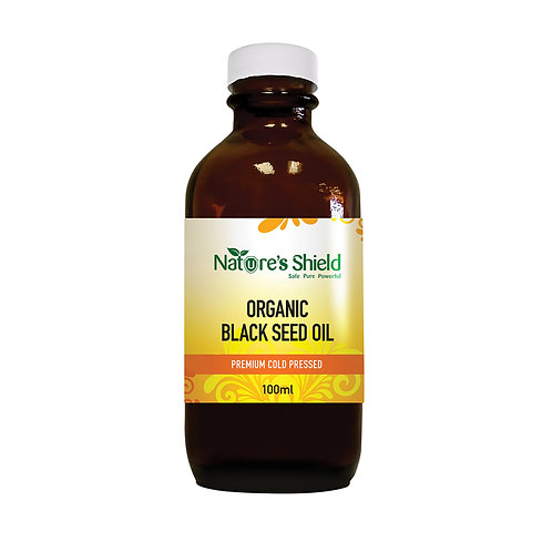 Nature's Shield Organic Black Seed Oil - 100ml