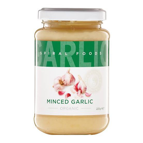 Organic Minced Garlic - 220g