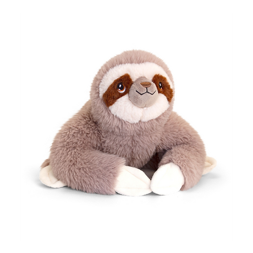 Keeleco 100% Recycled Sloth Plush 18cm
