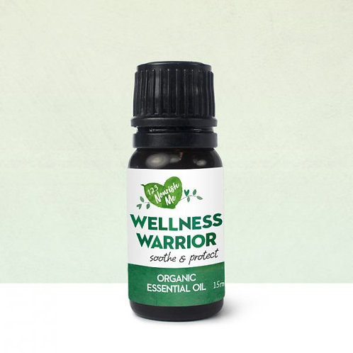 Wellness Warrior Organic Essential Oil - 15ml