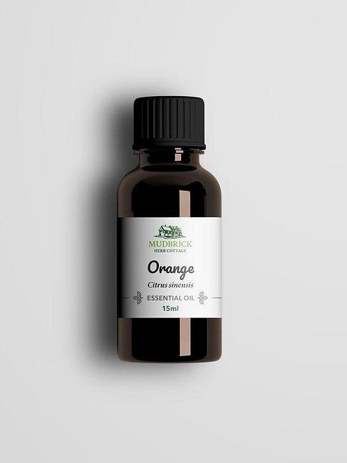 Organic Orange Essential Oil - 15ml