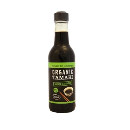 Organic Tamari (wheat, gluten & GMO free) - 250ml