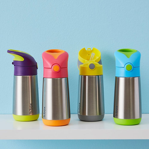 B.box Stainless Steel Insulated Drink Bottle - 350ml