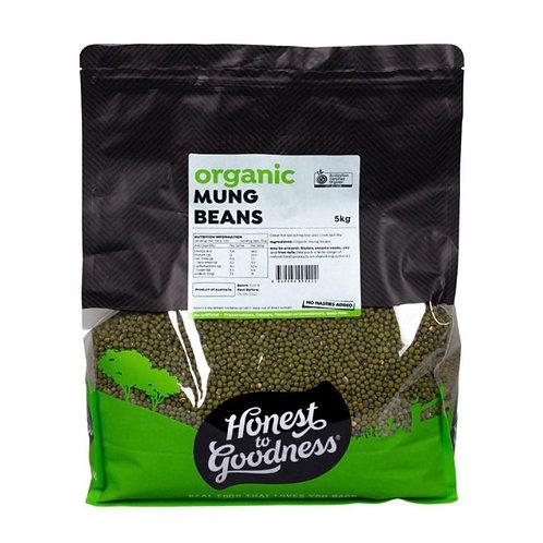 Organic Mung Beans - 5kg