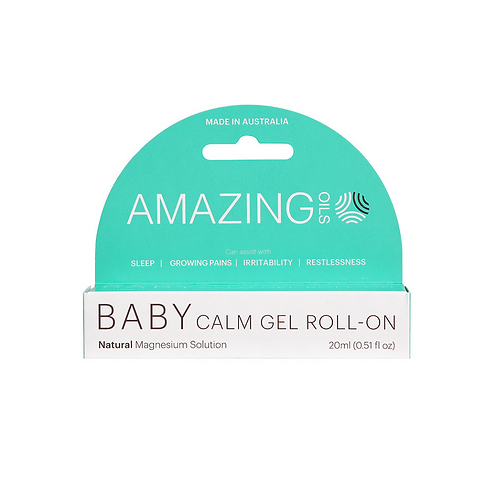 Amazing Oils Baby Calm Magnesium Gel Roll-On - 20ml