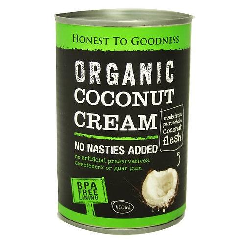 Organic Coconut Cream (BPA free) - 400ml