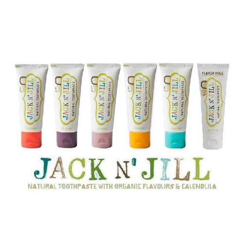Jack N' Jill Kid's Toothpaste (Fluoride  & SLS Free)  - 50g