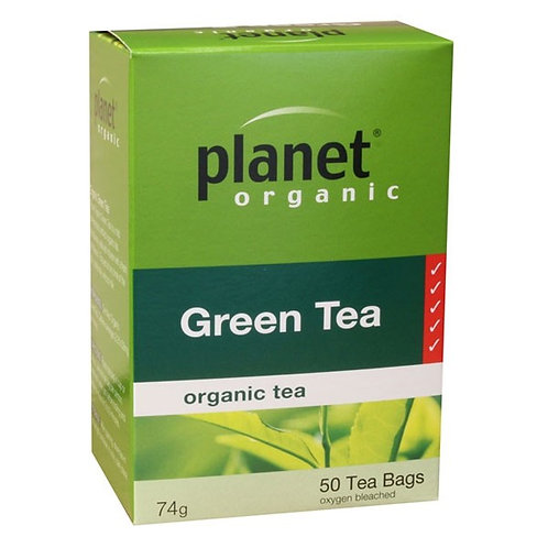 Organic Green Tea - 50 tea bags