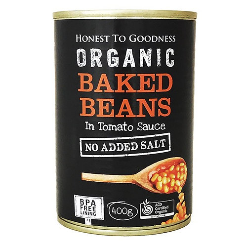 Organic Baked Beans (BPA free & no added salt) - 400g