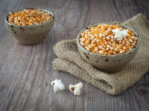 Organic Popping Corn (Popcorn) - 650g