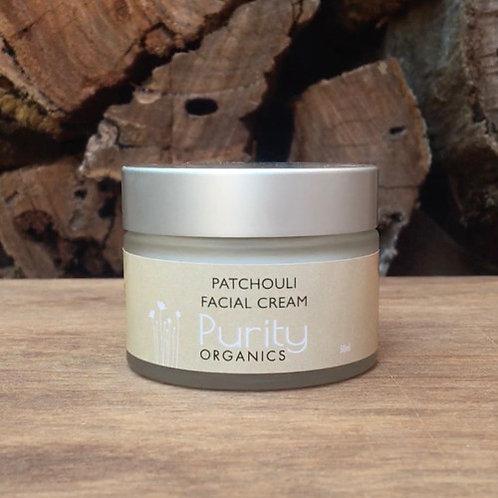 Purity Organics Patchouli Facial Cream - 50ml