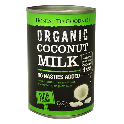 Organic Coconut Milk (BPA free) - 400ml