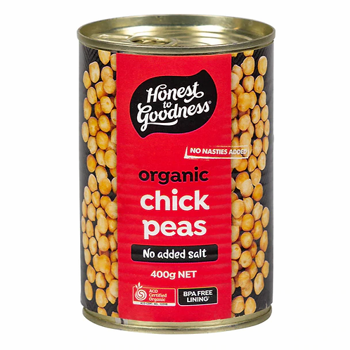 Organic Chickpeas (BPA free) - 400g