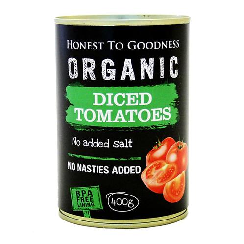 Organic Diced Tomatoes (BPA Free) - 400g