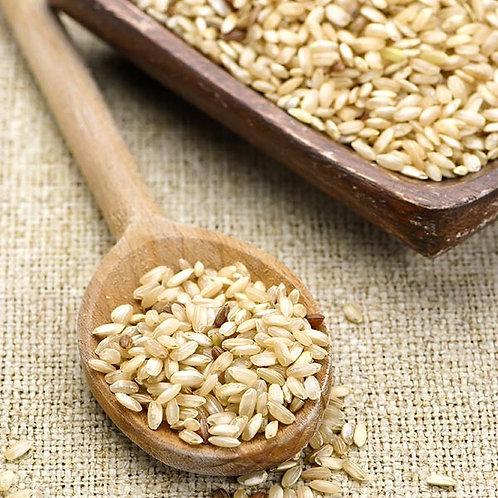 Biodynamic Rainfed Medium Grain Brown Rice