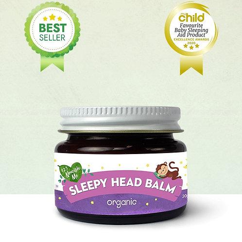 Organic Sleepy Head Balm (123 Nourish Me) - 30g