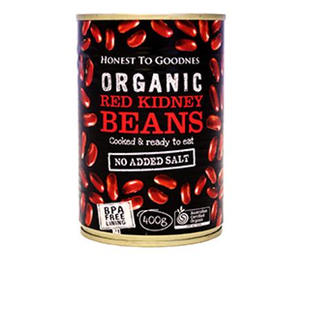 Organic Red Kidney Beans (BPA free) - 400g