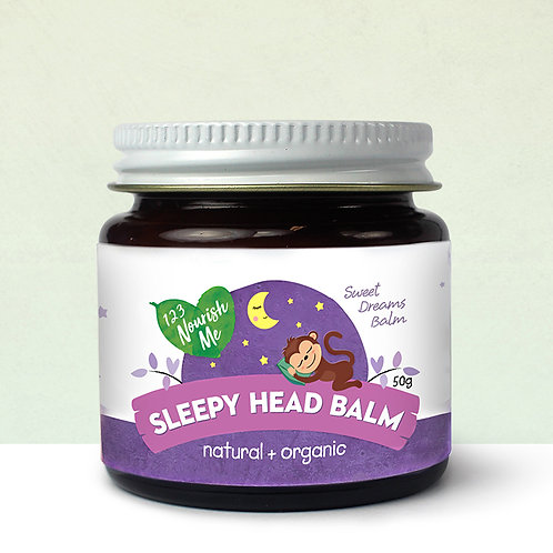 Organic Sleepy Head Balm (123 Nourish Me) - 50g