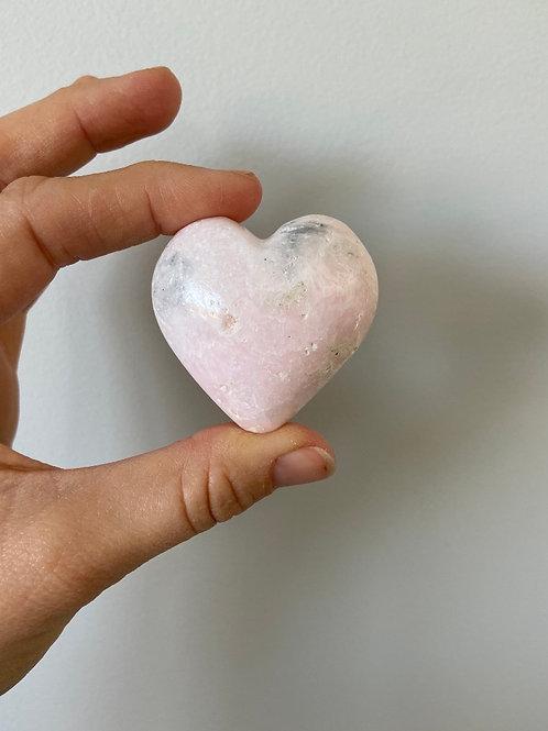 Mangano Calcite Healing Hearts