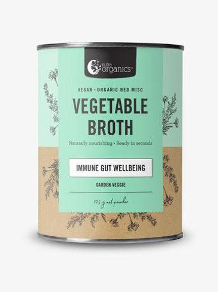 Vegetable Broth Garden Veggie Concentrate - 125g