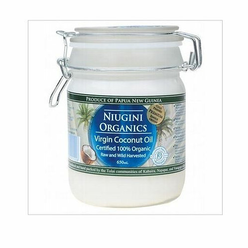 Organic Coconut Oil Virgin Raw - 650ml