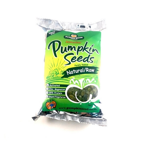 Natural & Raw Pumpkin Seeds (Pepitas) - 250g