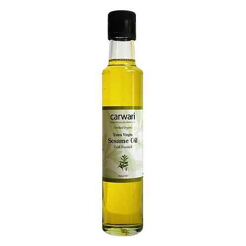 Organic Sesame Oil Extra Virgin Cold Pressed - 250ml
