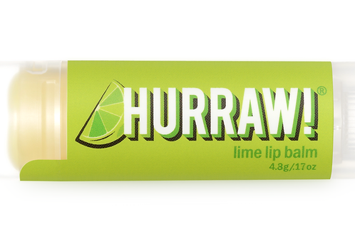 Hurraw Black Lime Lip Balm