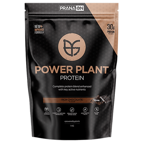 Prana On Power Plant Protein (Rich Chocolate) - 1kg
