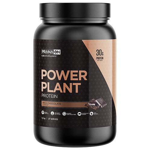 Prana On Power Plant Protein (Rich Chocolate) - 1.2kg