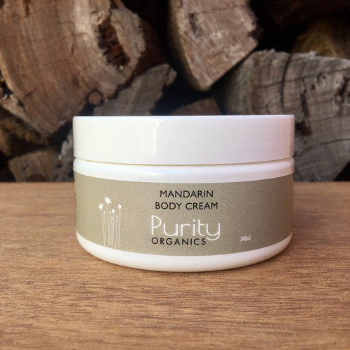 Purity Organics Mandarin Body Cream - 240ml