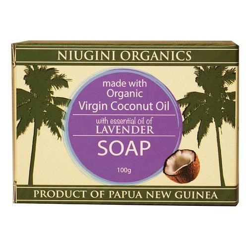 Organic Lavender Coconut Soap - 100g