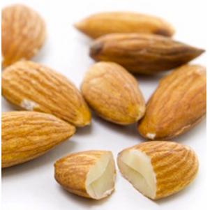 Organic Almonds Raw (whole & broken) - 1kg