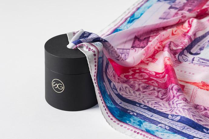 silk scarf size Giant