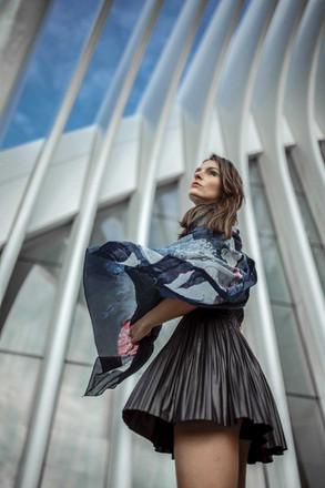 Silky Gann´g Krkavci šátek bavlna